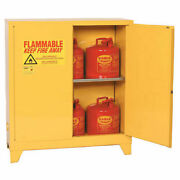 Flammable Liquid Towerand8482 Safety Cabinet With Self Close 30 Gallon