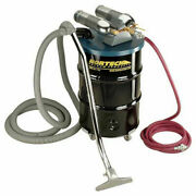 55 Gal. Dual B Pneumatic Vacuum Unit W/ 1.5 Inlet And Attachment Kit N552bcx