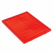 Lid For Stack And Nest Shipping Containers Snt190 Snt195 Red Lot Of 6