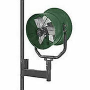 Triangle Engineering 30 Horizontal Mount Fan With Poly Housing 1/2 Hp 7900 Cfm