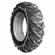 107 Series Duo-trac Tractor Tire Chains, Steel, Pair, Lot Of 2