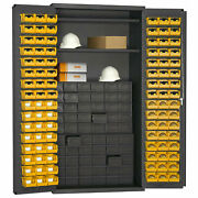 Durham High-capacity Small Parts Cabinet - 36x24x72