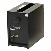 Perma-vault Depository Safe, Group Ii Combination Lock, Small, 8w X 11-3/4d X