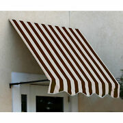 Awntech Window/entry Awning 5and039 4 -1/2w X 4and039d X 3and039 8h Brown/tan