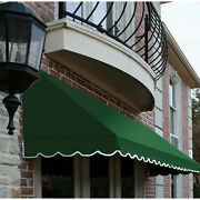 Awntech Window/entry Awning 10-3/8and039w X 4-11/16and039h X 4and039d Forest Green