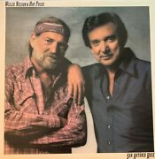 Willie Nelson And Ray Price-pre Owned Lp..san Antonio Rose Vg/vg+