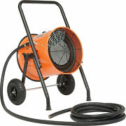 Portable Electric Salamander Heater, 240v 15 Kw 1 Phase With 25'l Cable