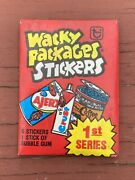 Vtg Rare 1979 Topps Wacky Packages 1st Series Unopened Wax Pack. 75 Packs New.