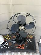 Antique Emerson B-jr Electric Oscillating One Speed Fan Works Great