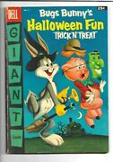 Bugs Bunnyand039s Trick N Treat Halloween Fun 4 Dell Giant 1956 7.0 Fn/vf
