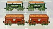 Lionel 16484-85-86-88 Copper Range Ore Cars 4-cars From Set 2005