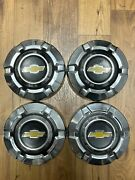 """Vintage 1969-1975 C10 Chevy Truck Dog Dish Hubcaps 10.5"""""""