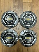 """Vintage 1969-1976 C10 Chevy Truck Dog Dish Hubcaps 10.5"""""""