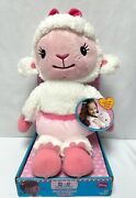 Doc Mcstuffins Lambie Cuddles And Hugs 2013 Plush New Just Play Toys Disney