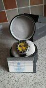 Tag Heuer Formula 1 Chronograph Yellow Dial Rare Ca1213 Menand039s Watch Box And Papers