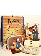 Loungefly Disney Winnie The Pooh Backpack, Wallet, Cosm. Bags, Keychain And Tote