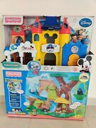 Fisher-price Little People Magical Of Disney And Zoo Talkers Spanish [lot Of 2]