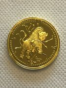 Scarce 1998 Canada 200 1/2 Ounce Gold Coin Legend Of The White Buffalo Mint