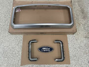 Ford Oem 2013-16 F-350 Supe Duty Grille Surround Dc3z-8200-a. Emblem And Fillers