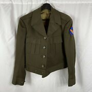 Original Wwii Army Air Corp Tailored Officer Ike Jacket
