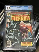 The Eternals 1 Cgc 9.0 White Pages Marvel 1976 - First App. Of Eternals