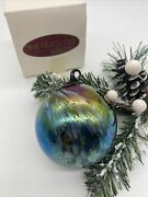 The Glass Eye Collectible Art Glass Ornament