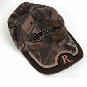 Remington Signatures Camo Hat Hunting Brown Camouflage Adjustable Back Cap