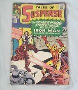 Tales Of Suspense 52 4/64 1st Appearance Black Widow Never Pressed
