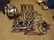 Sbc Hilborn Fuel Injection All Complete With Moon Gas Tank.vintage Gasser
