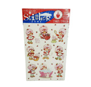 Vintage 1996 Strawberry Shortcake Doll Scratch N Sniff 2 Sheets Of Stickers New