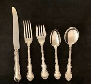 Strasbourg By Gorham Sterling Flatware Set For 4 By 5  Total 20 Pieces