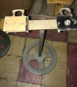 Vintage Ford Gumball Bulk Vending Machine Stand With Double Mounting Bracket