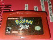 Pokemon Fire Red Not For Resale Nfr Gameboy Advance Gba Nintendo 2004 Cartridge