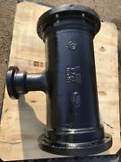 10andrdquo X 3andrdquo Tee Mechanical Joint Mj Ductile Iron Di 350 C110 Full Body Usa Ufco