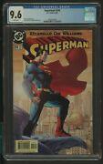 Superman 204 Cgc 9.6 6/04 Brian Azzarello Story Jim Lee And S.william Cover And Art