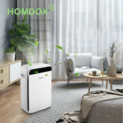 Air Purifier Large Roomoffice Air Cleaner Hepa Filter Remove Odor Dust Mold-usa