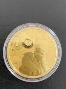🔥2020 Tuvalu 1oz Homer Simpson Gold Coin 100 Dollars .9999 Collectible Invest🔥