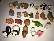 Lot Of 24 Fisher Price Little People Animals Zoo Farm Animals Dogs Lady And Tramp