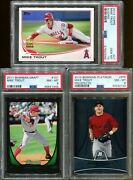 Absolute Memorabilia 7 Cards Pack Auto Relic Baseball Mike Trout Edition