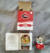 2 Rare Mickey Mouse Disney Jcpenney Snow Globes Black Friday Christmas Holiday