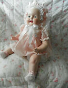 Vintage Large Composition Baby Doll 24 Free Shipping