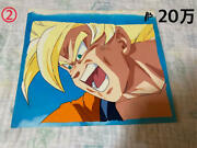 Dragon Ball Son Goku Cel Picture Background Anime Jp Production Sketch N370