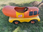 Vintage Oscar Mayer Wienermobile Ride-on Pedal Car. Rare Promotional Model Toy.