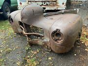 1940 Dodge Fender L And R Nose Inner Fenders Buckets Core Support Side Hood Panel