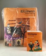 Dept 56 Lot Of 2 The Bat House + You Look Batastic Svh Trick Or Treat Lane New
