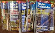 Model Railroader Magazine - Year Lots, With Years From 1987-2011 + Specials