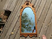 Antique Hand-carved Wood Eagle Mirror 1800s Fine High-end Wall Decor Colonial