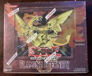 Yugioh Flaming Eternity Factory Sealed 1st Edition 24-pack English Booster Box