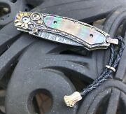 William Henry Knife Collectors Series One Of A Kind Septandrsquo 2009 - Black Lip Pearl