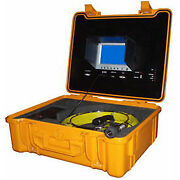 Forbest Portable Color Sewer/drain Camera 100and039 Cable W/ Heavy Duty Waterproof